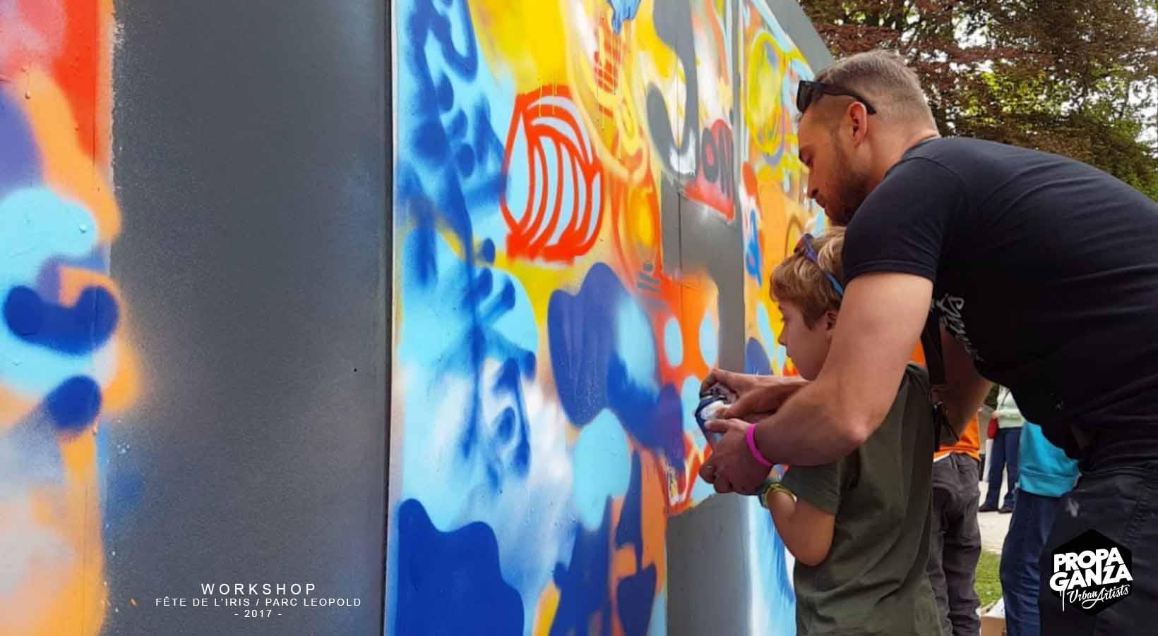 https://www.propaganza.be/wp-content/uploads/2019/04/Propaganza-graffiti-workshop-iris-leopold-parc-bruxelles-brussels-street-art-event-2017-fresque-participative.jpg